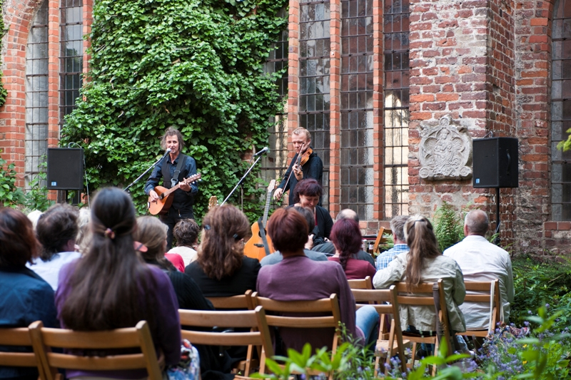Concert in the inner courtyard