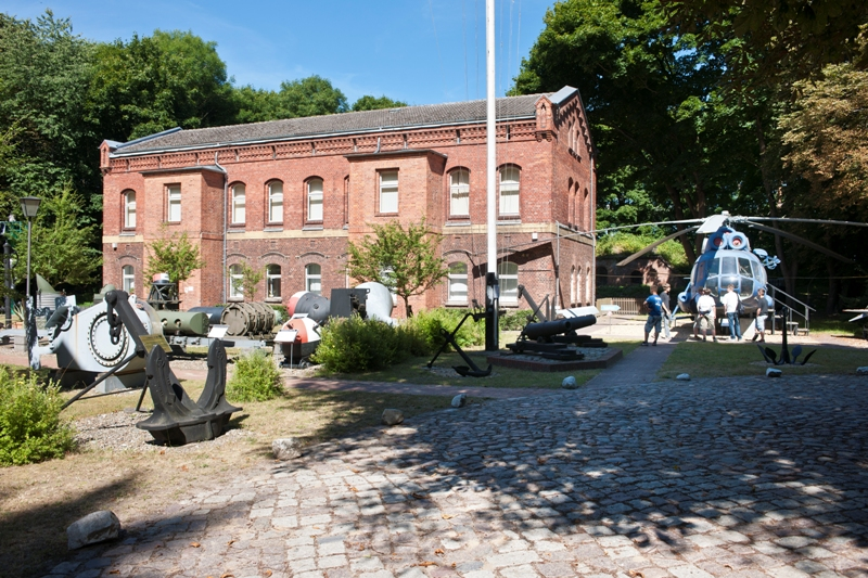 Museum of navy history on the island Dänholm